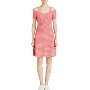 Three Dots Women Cold Shoulder Casual Dress $98
